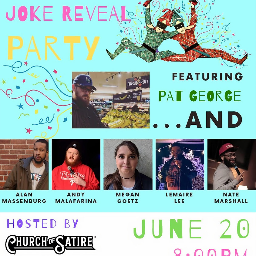 Pat George's Joke Reveal Party