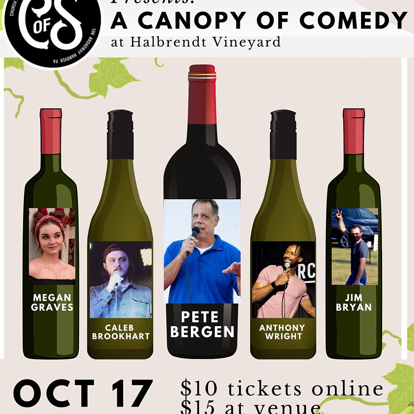 CoS Presents: A Canopy of Comedy