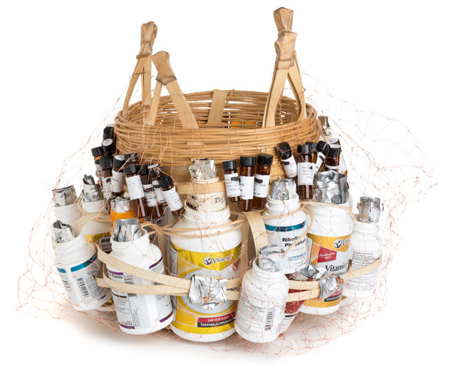 Medicine Basket with Safety Net