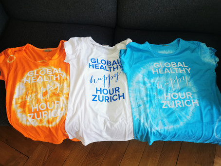In support of Africa Yoga Project - our GHHH Event T'Shirts on sale soon!