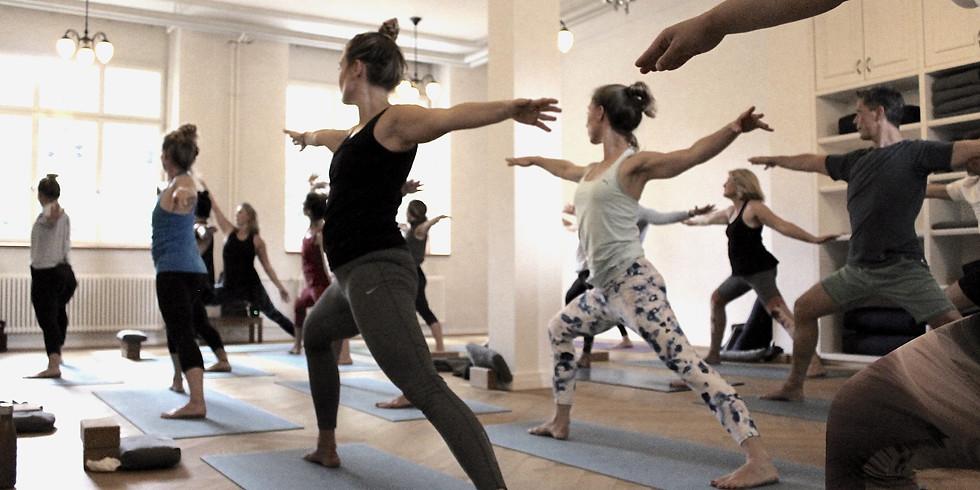 Baptiste Yoga Online Class