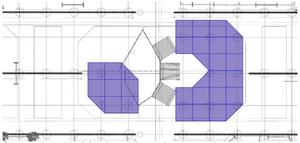 Calepinage des modules pré-assemblés en atelier