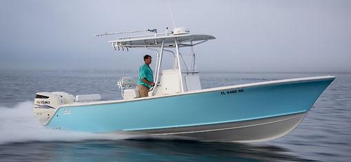 Stuart 27' charter boat