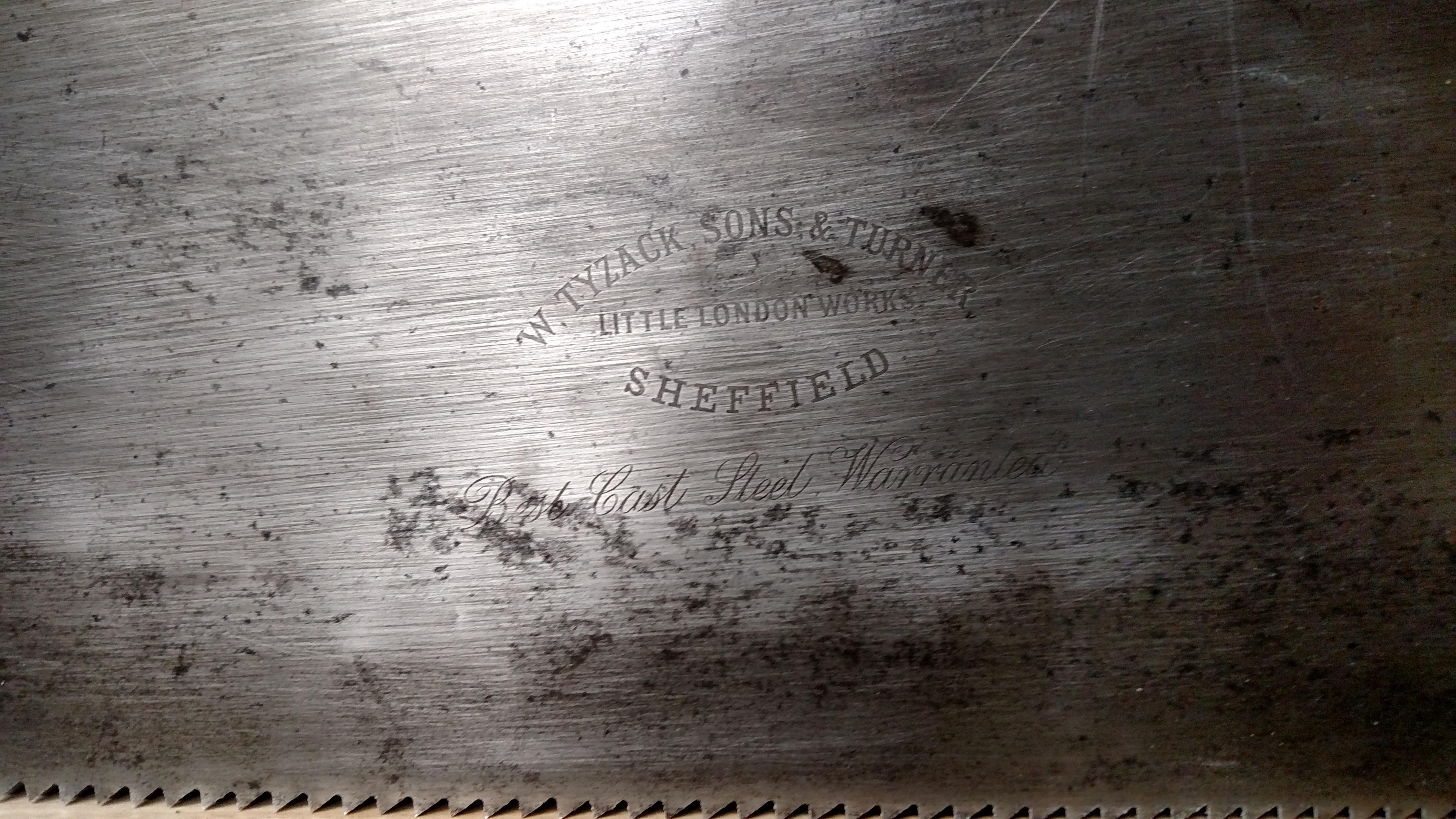 Restored Handsaw