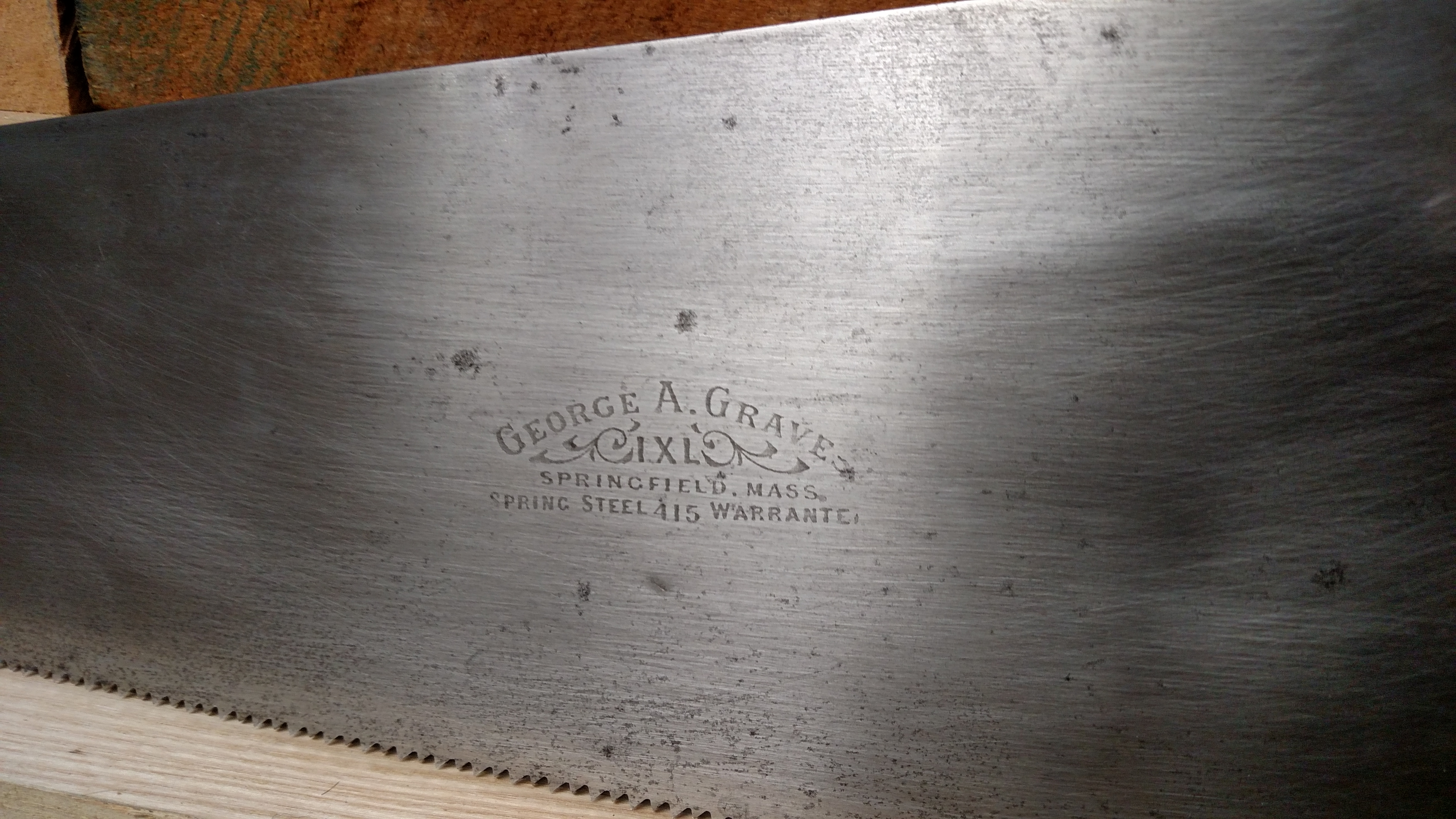 George Graves handsaw