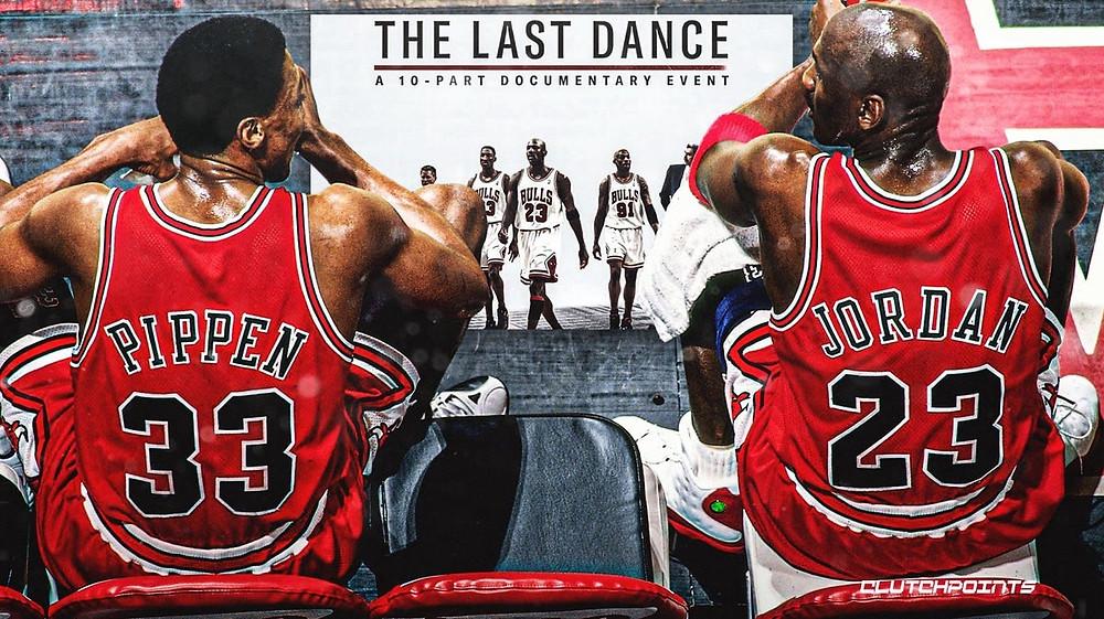 The last dance documentary Pippen Jordan