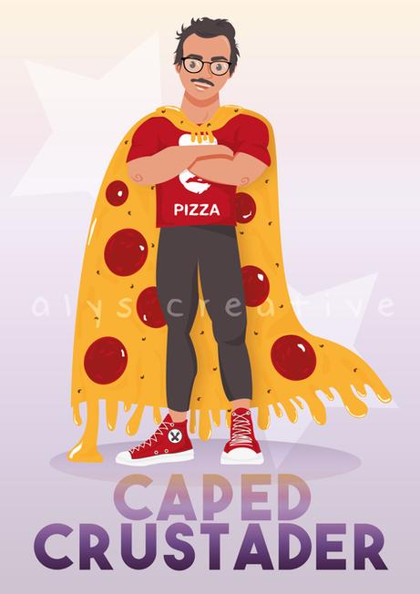 Pizza Superhero
