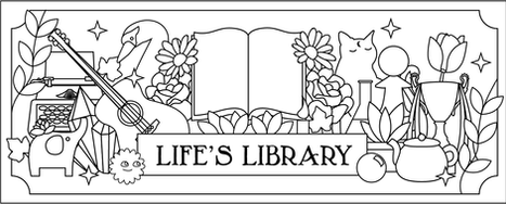Life's Library Bookmark