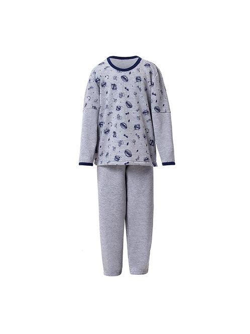 Pijama Infantil Longo em Moletinho