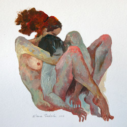 Man and Woman 6x6in-compres