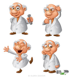 Scientist Character