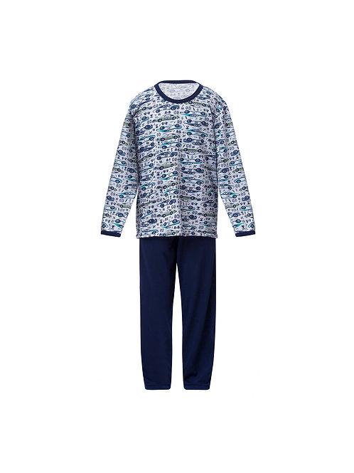 Pijama Infantil Longo Estampado