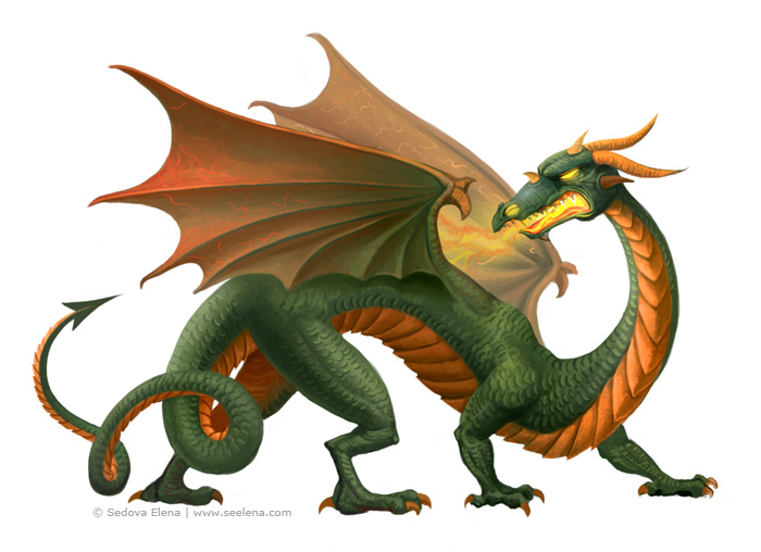 Dragon for Online Game