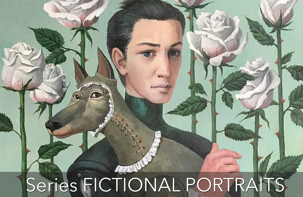 Painting Banners - Fictional Portraits.j