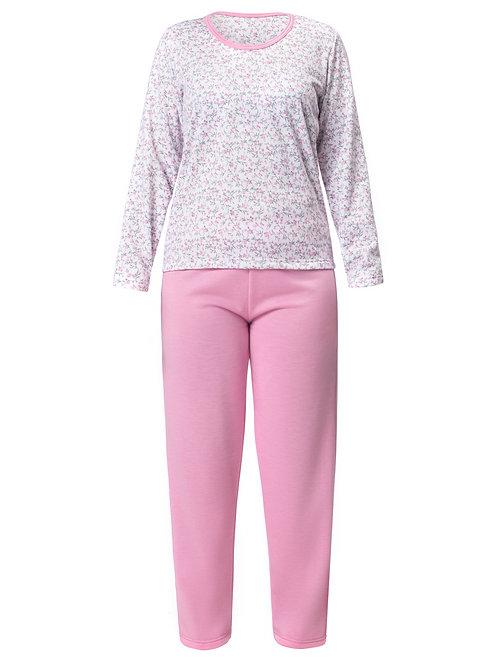 Pijama Longo Feminino em Moletinho