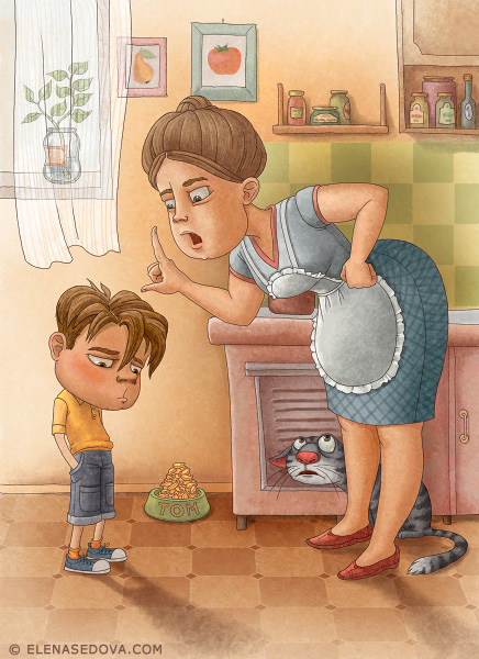 Illustration fo Children Book