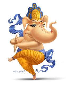 Character Ganesha