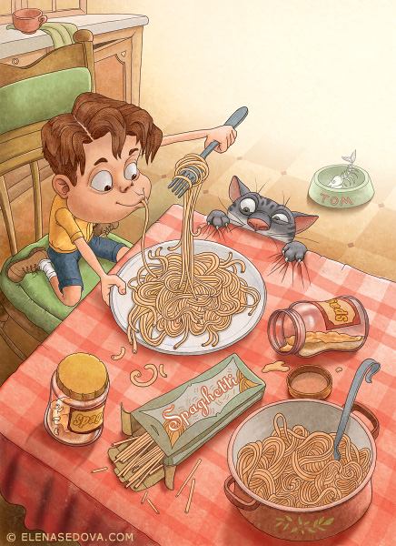 Illustration fo Children Book