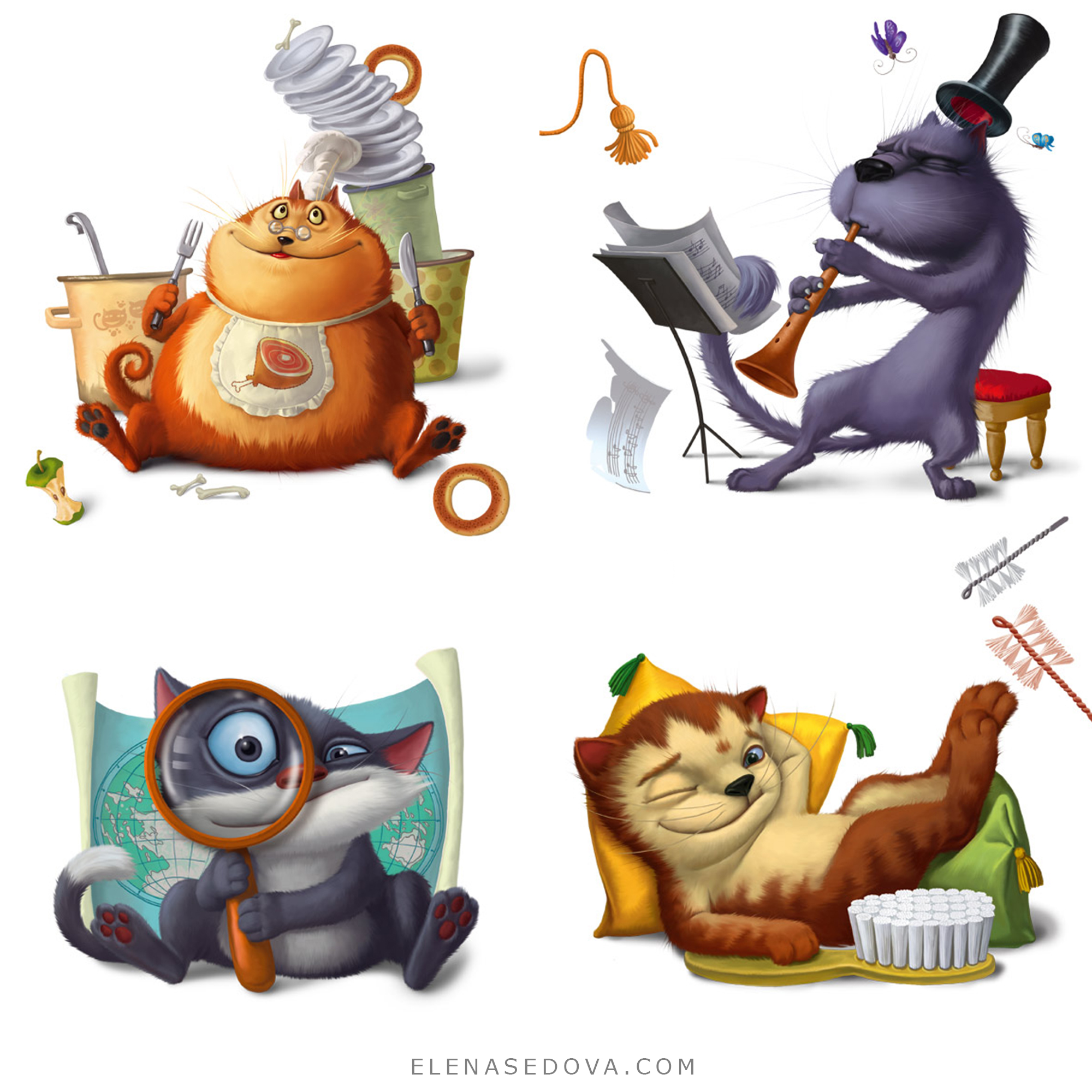 Illustrations for ABS Book