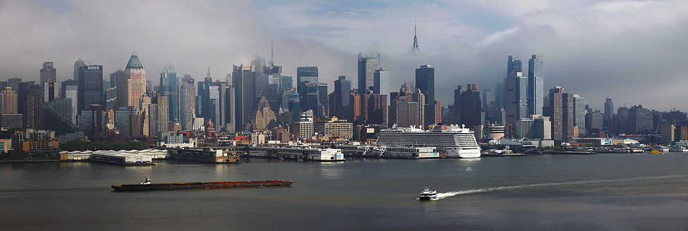 New York panoramas,Hudson