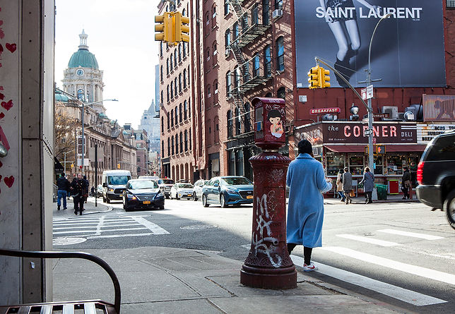Broome Street and Centre Market Place.