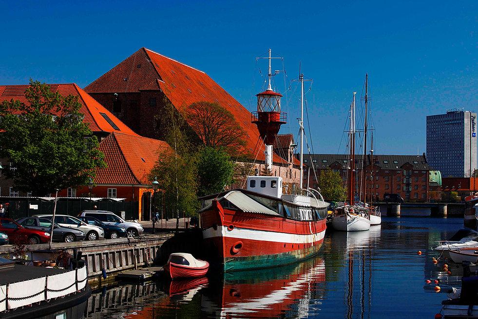Lightvessel XI 1878 Lighthouses Copenhagen