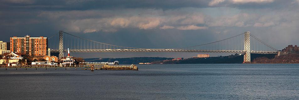 New York panoramas,George Washington bridge