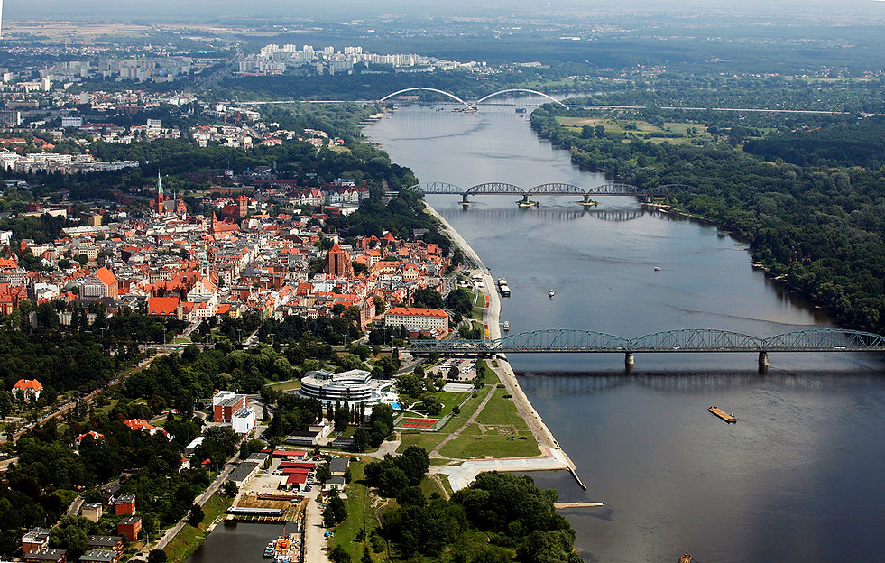 Wisla Torun bridges/poland