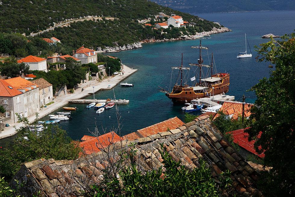 Sipan. Croatia.