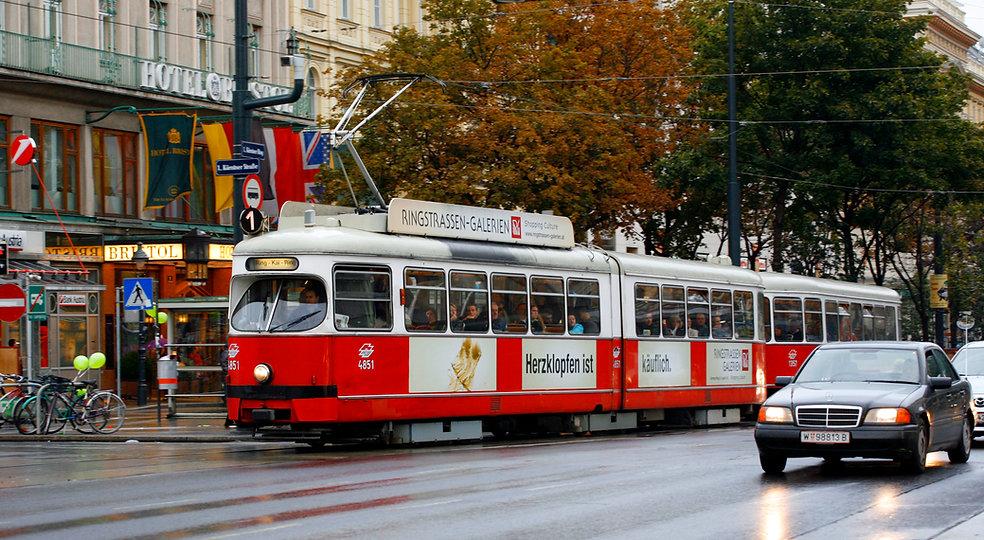 Austria / Wien / Tramway.