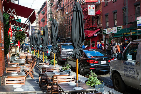 Mulberry Street / nyc