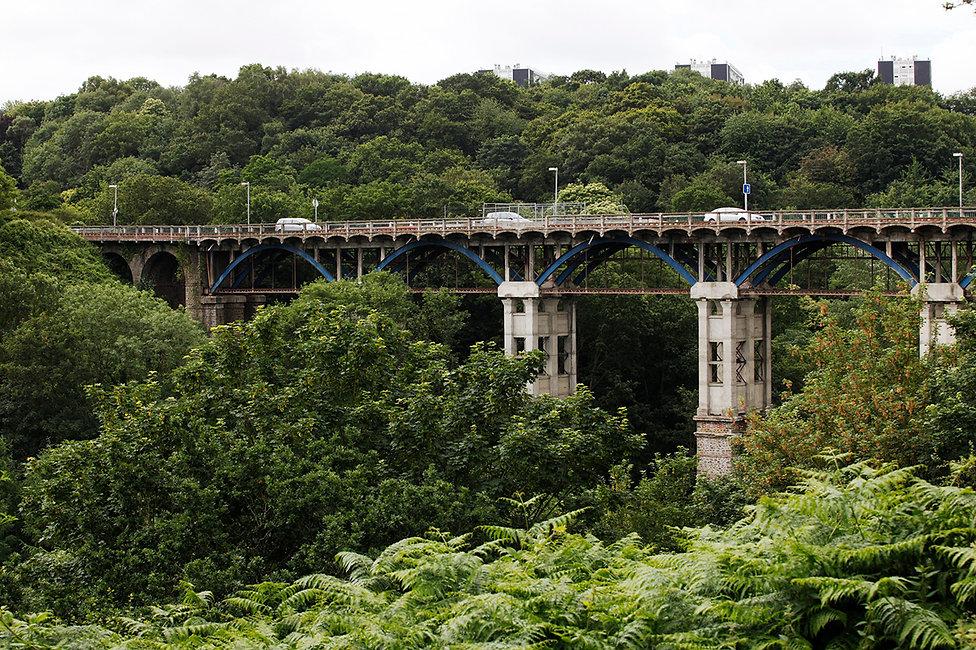 Viaduc de Toupin de Saint-Brieuc Côtes-d