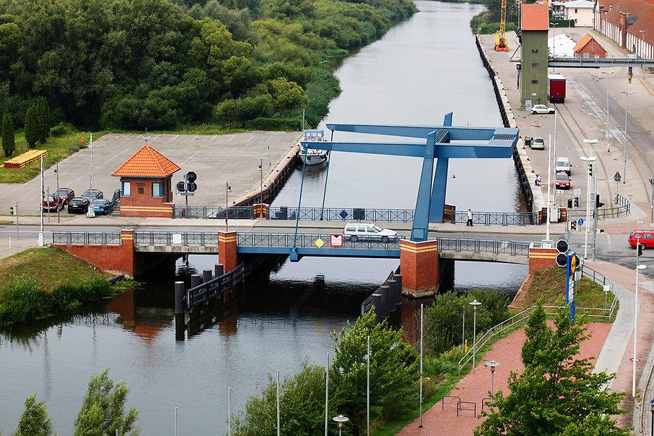 Kahldenbrücke in Demmin