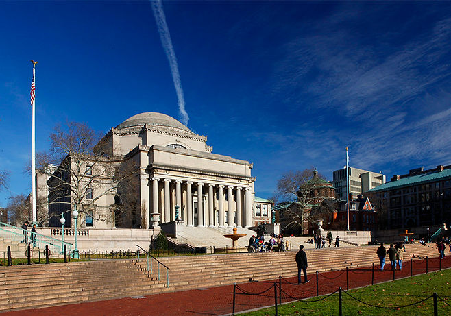 columbia university campus / NYC