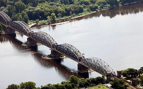 Most kolejowy im. Ernesta Malinowskiego w Toruniu 1939