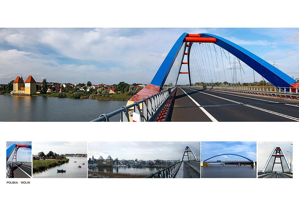 Most przez Dziwnę w Wolinie 2003