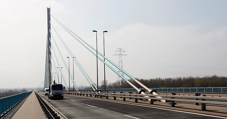 Most Solidarności w Płocku 2007