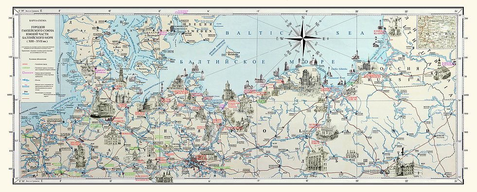 map south baltic