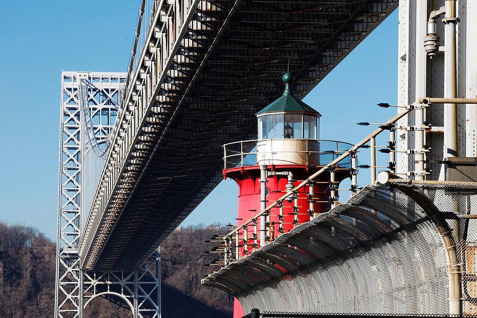 Jeffre s Hook / 1921/ J. Washington Bridge/ Hudson