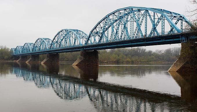 Most im. Józefa Piłsudskiego w Nowym Dworze Mazowieckim /1911