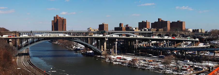 Alexander Hamilton Bridge /1963/NY491обр+т