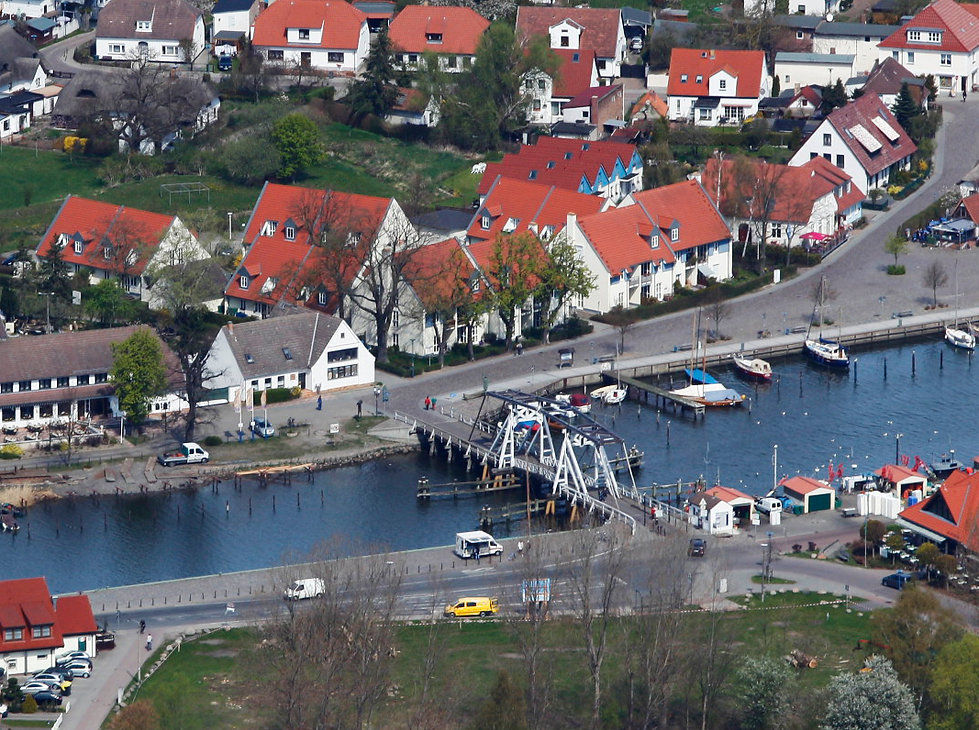Wiecker Brückeüber den FlussRyck