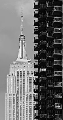 New York. Broadway.Empire State Building.1931.5 Avenue