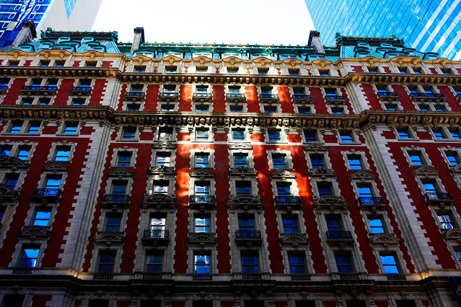 The Knickerbocker Hotel. Manhattan. Broadway and West42 Street