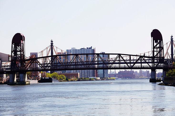Roosevelt Island Bridge 1955 East Channel