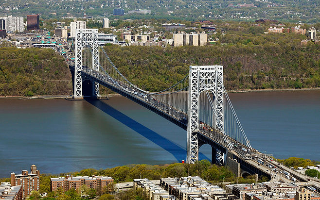 George Washington bridge 1931/ny/manhattan
