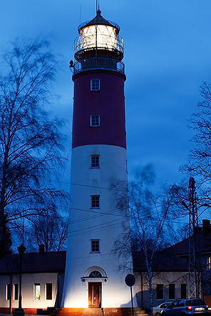 The  lighthouse Baltiysk