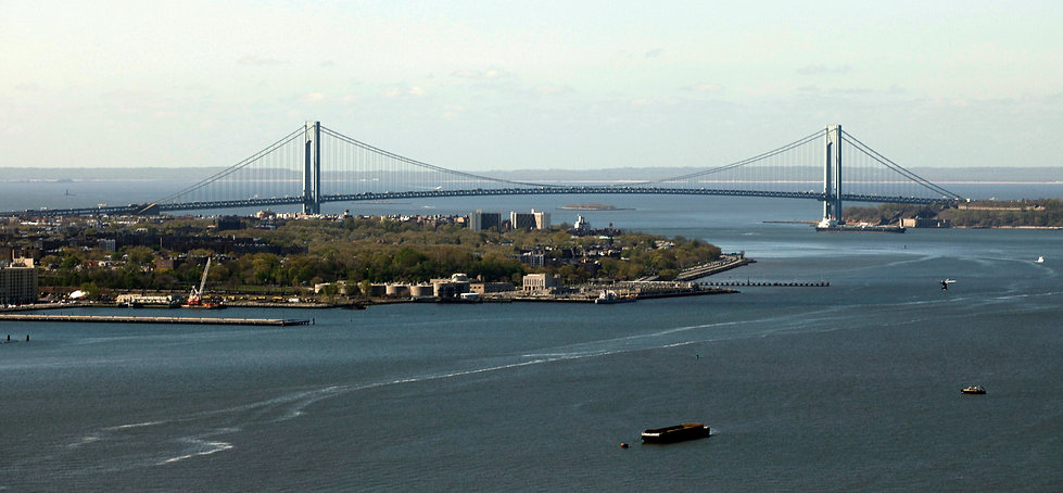 Verrazano-Narrows Bridge 1964