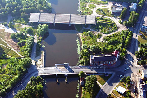 The second Highest bridge/kaliningrad