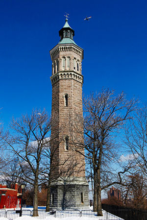 Higbridge Water Tower | 1872 | Highbridge-park. Manhattan. New York.